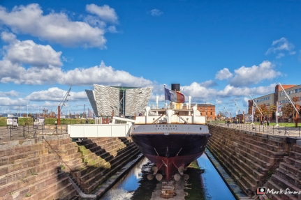 Titanic Museum, Belfast, Northern Ireland, UK