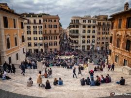 Spanish Steps, Rome, Italy, Europe