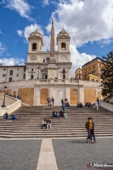 Spanish Steps, Rome, Italy, Europe