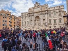 Trevi Fountain, Rome, Italy, Europe