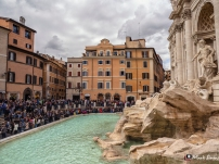 Trevi Fountain, Rome, Italy, Europe