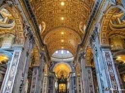 St Peter's Basilica, Vatican City, Rome, Italy