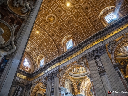 St Peter's Basilica, Vatican City, Rome, Italy