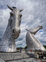 The Kelpies, Falkirk, Scotland, UK