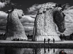 The Kelpies, Falkirk, Scotland, UK