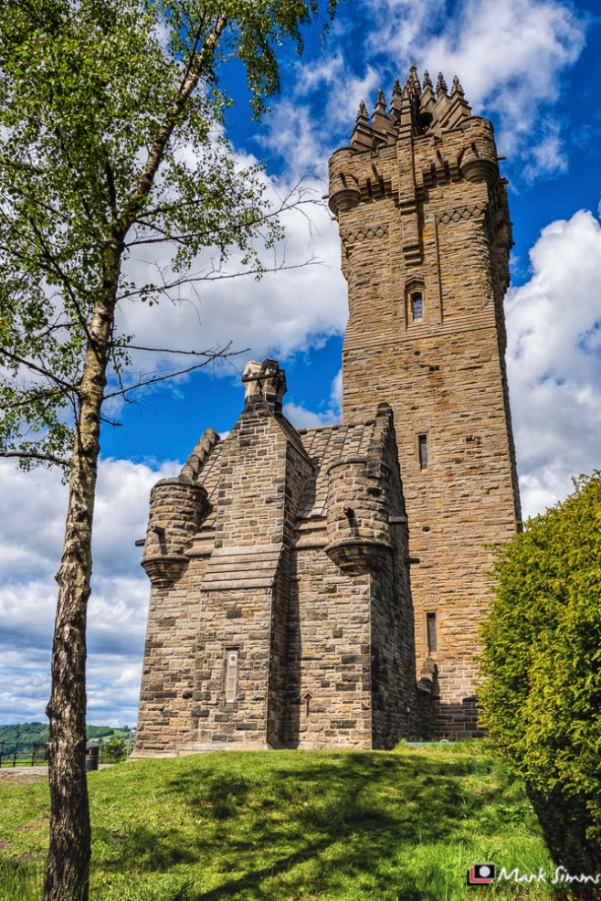 The Wallace Monument, Stirling, Scotland, UK