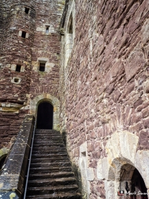 Doune Castle, Stirling, Scotland, UK