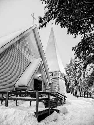 Inari Church, Lapland, Finland