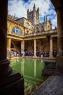 The Abbey & Roman Baths, Bath, Somerset