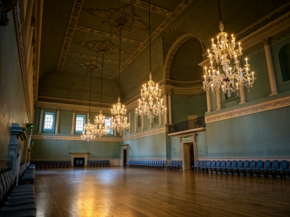 Assembly Rooms, Bath, Somerset