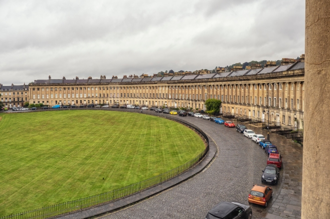 Royal Crescent, Bath, Somerset