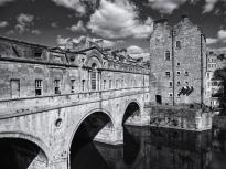 Pulteney Bridge, Bath, Somerset