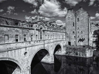 Pulteney Bridge, Bath, Somerset