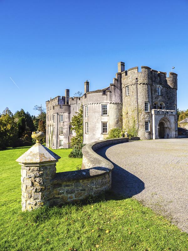 Picton Castle, Pembrokeshire, Wales