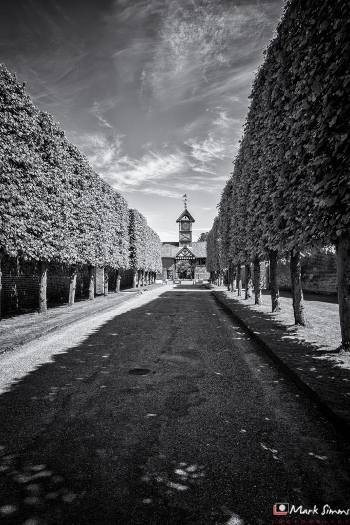 Arley Hall, Cheshire, England, UK