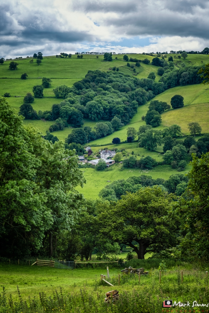 Chirk Castle, Wrexham, Wales, UK